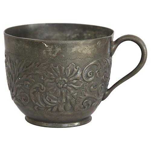 Victorian Mustache Cup
