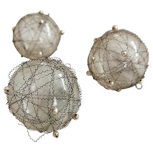 German Glass Christmas Tree Balls