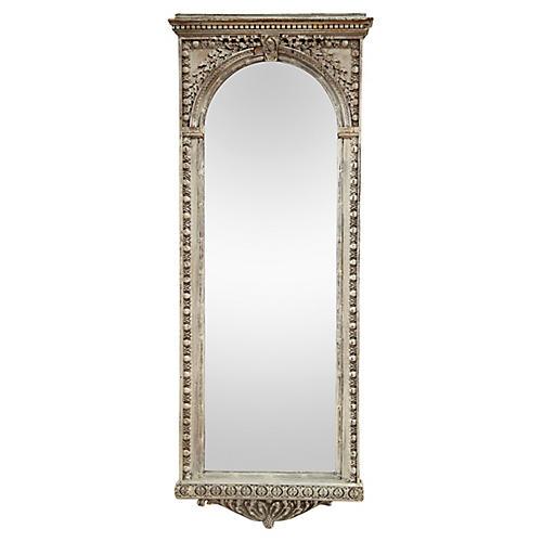Antique Arched Mirror