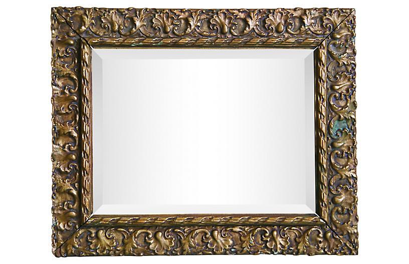 French Beveled Mirror
