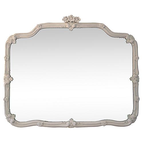 Floral Dresser Mirror