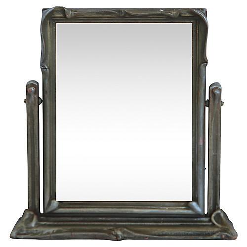 Art Nouveau-Style Dresser Mirror