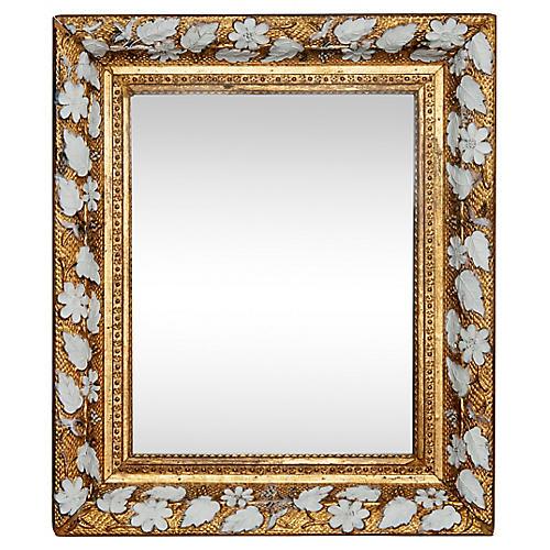 Victorian Floral Mirror