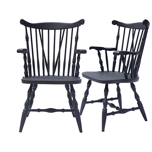 Captains Chair Ebony, Pair
