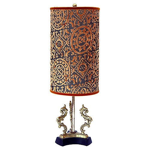 Midcentury Dragon Lamp
