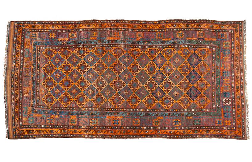 Handmade Antique Armenian Area Rug