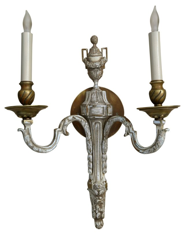 French Brass Sconce