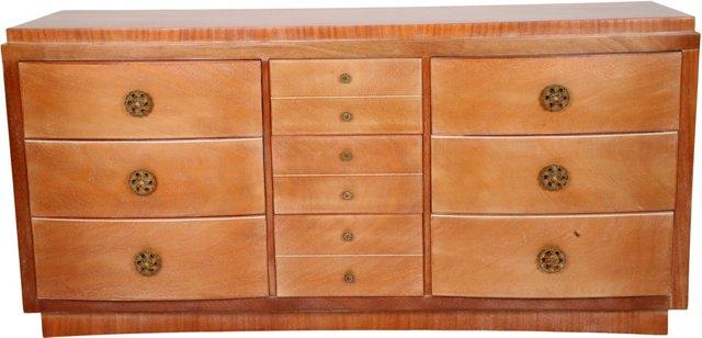 Oak & Walnut Dresser
