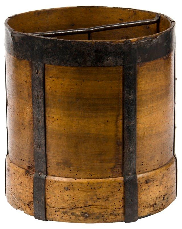 Antique Wooden Grain Measure