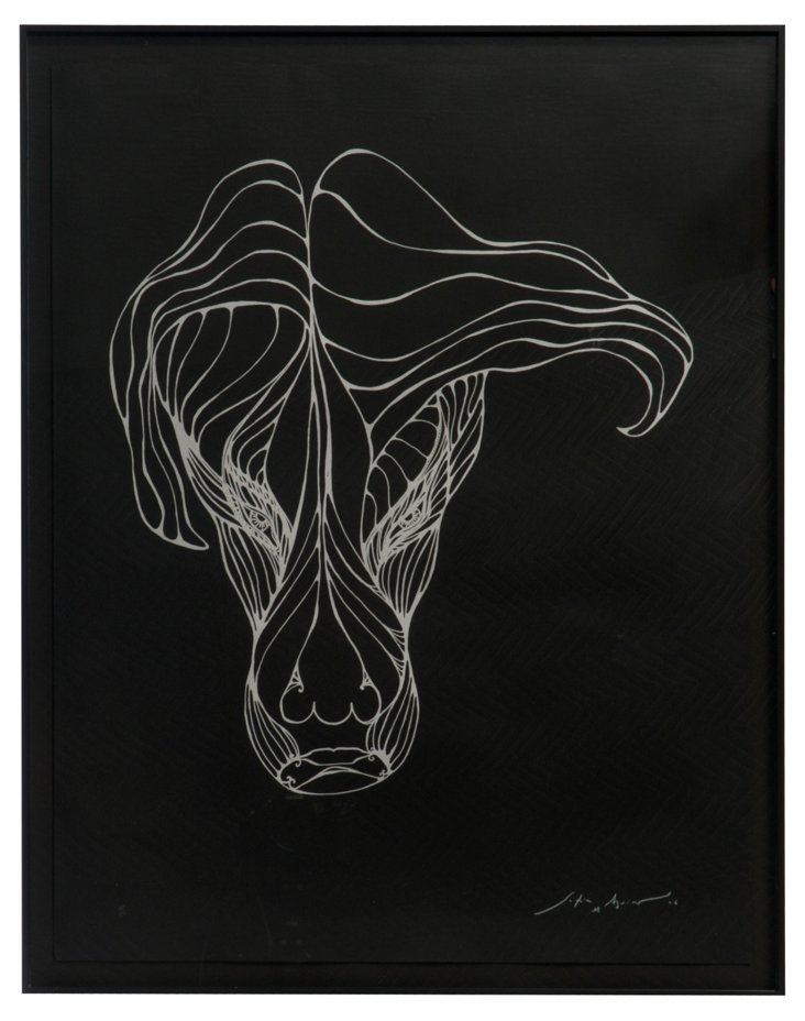 Arcadia Horse     Serigraph