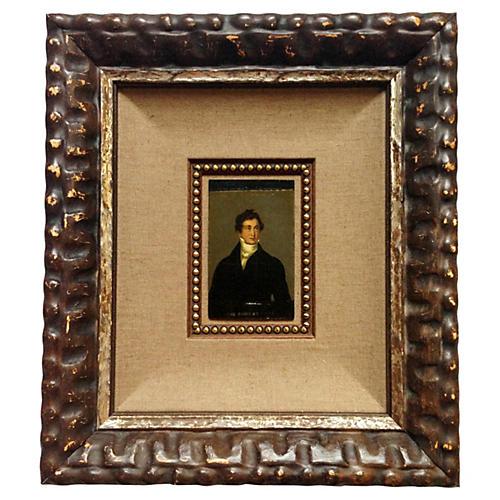 Portrait of a Gentleman - Miniature