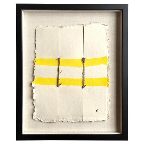 Yellow Bridge by John Mayberry
