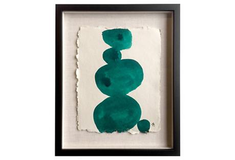 Green Rocks V by John Mayberry