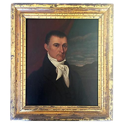 Oil Portrait of Preserved Wheeler