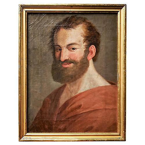18th-C. Portrait of a Man