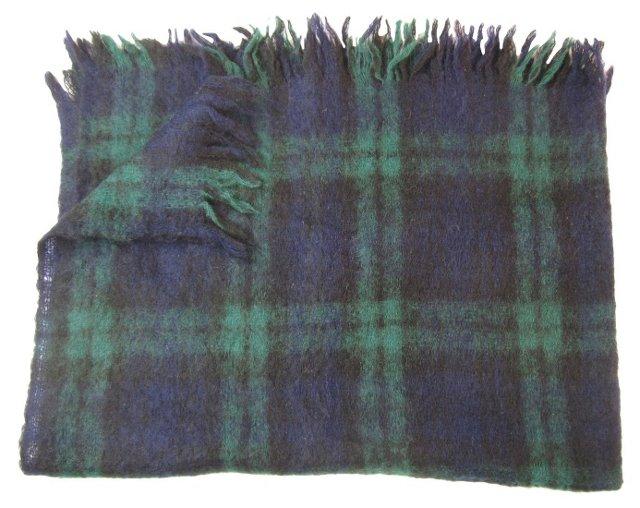 Scottish Blackwatch   Mohair Throw