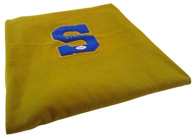 Gold & Blue Stadium Blanket