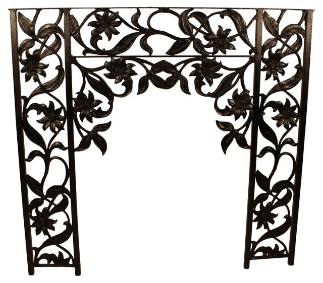 Wrought Iron Architectural Fragment