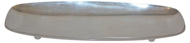 Gump's Modern Silver Tray