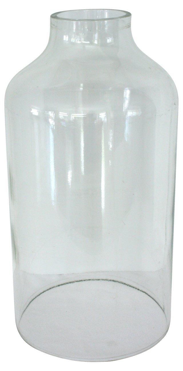 Industrial Glass Cloche