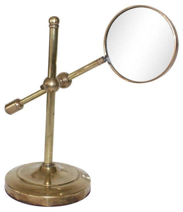 Adjustable  Brass Magnifier
