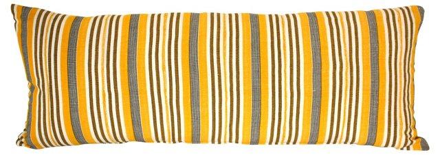 African Textile Body Pillow