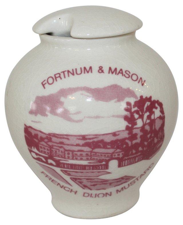 Fortnum & Mason Mustard Pot