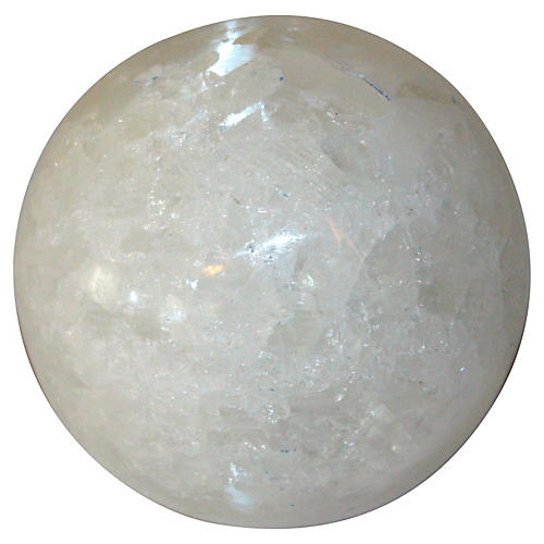 Satin Spar Crystal Orb