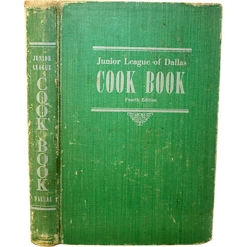 Junior League of Dallas Cookbook 1948