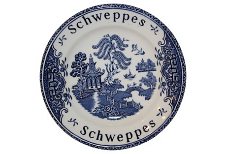 French Schweppes Tip Dish