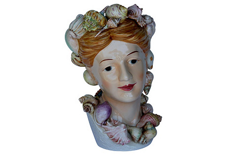 1950s Sea Goddess Vase