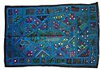 Bohemian Wedding Sari Textile