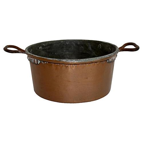 Rustic Copper Pot