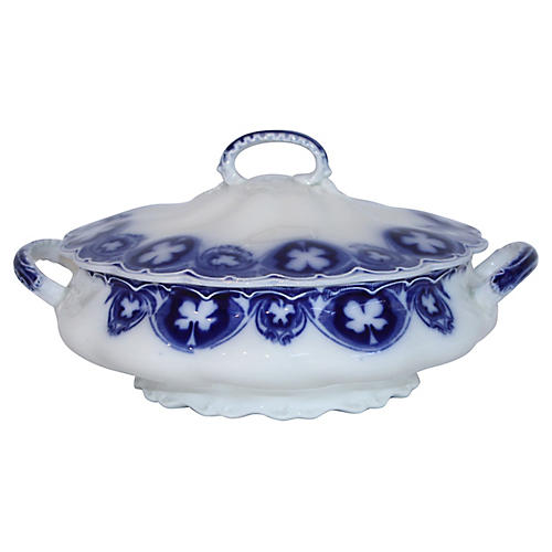 English Savoy Covered Bowl