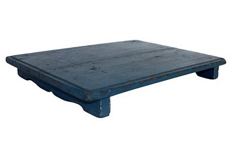 Painted Wood Tray/Display