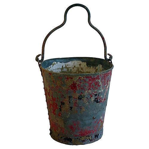 Fire Brigade Steel Bucket