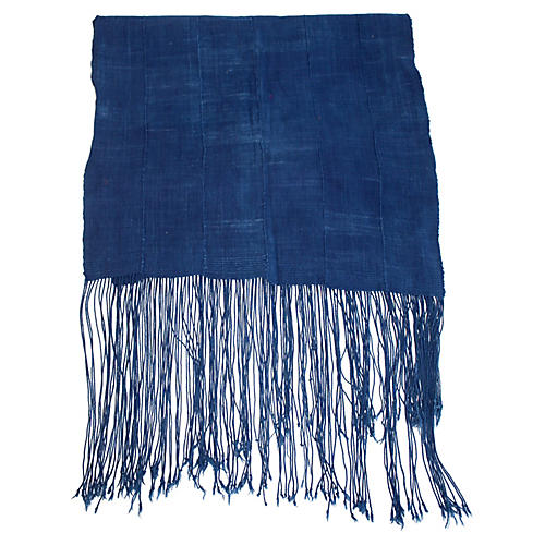 African IndigoTextile Scarf/Table Runner