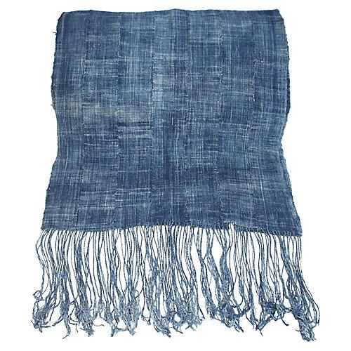 African Indigo Textile Runner