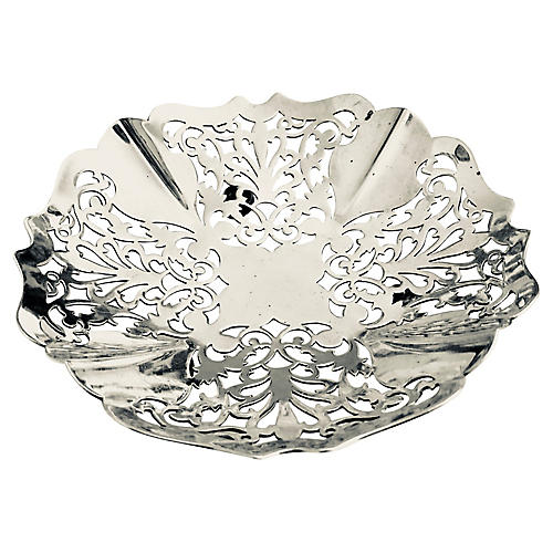 Antique English Silver-Plate Bowl