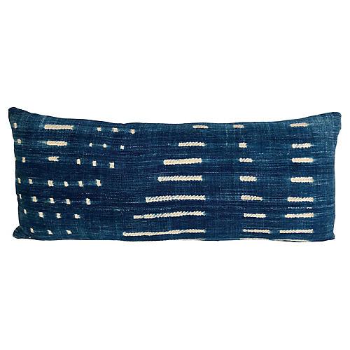 Indigo Textile & Linen Pillow