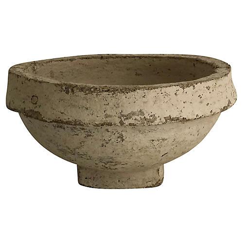 Rustic Papier Mache Bowl