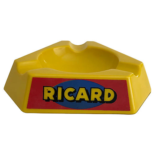 French Ricard Bistro Ashtray