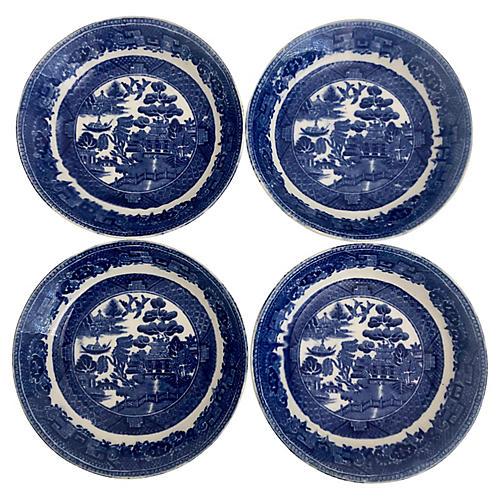Antique Wedgwood Bowls, S/4