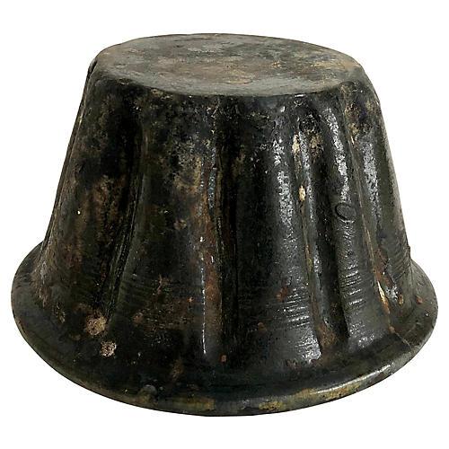 Antique English Pudding Mold
