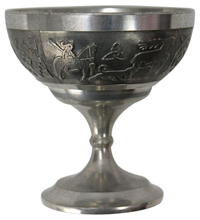 Celtic Pewter Chalice