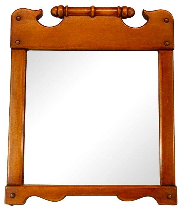 Rock Maple Gentleman's Dresser Mirror