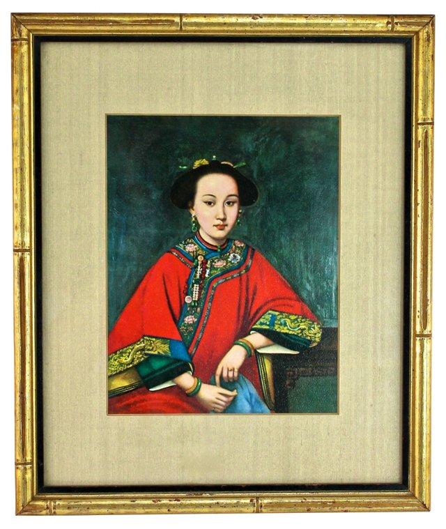 Asian Ancestral Portrait