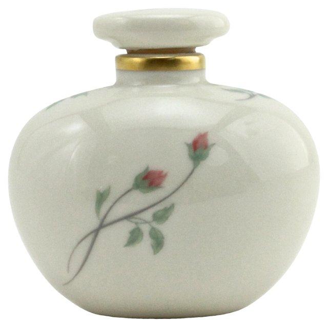 Lenox Rose Manor Perfume Bottle