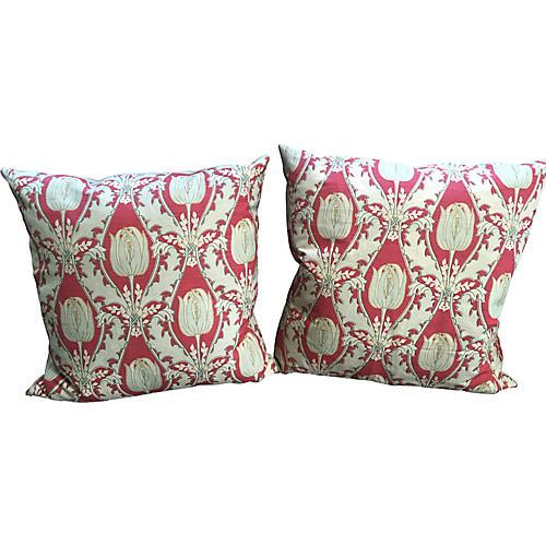 Howlett Tulip Pillows,Pair
