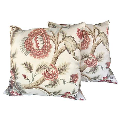 Bennison Zanzibar Pillows, Pair